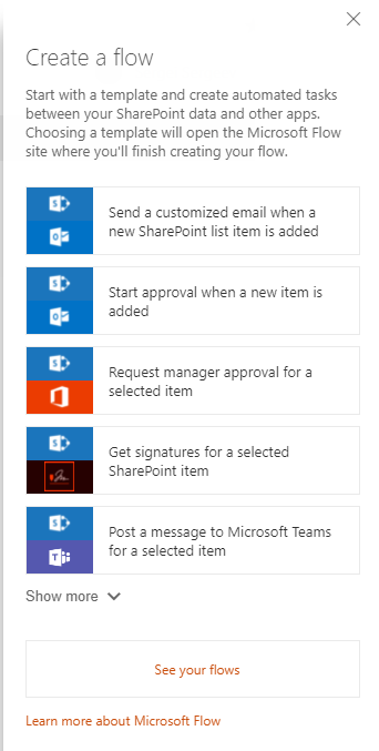 Microsoft Flow beginners guides: How to show your custom