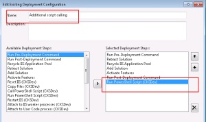 How to extend deployment of sharepoint solution in Visual Studio