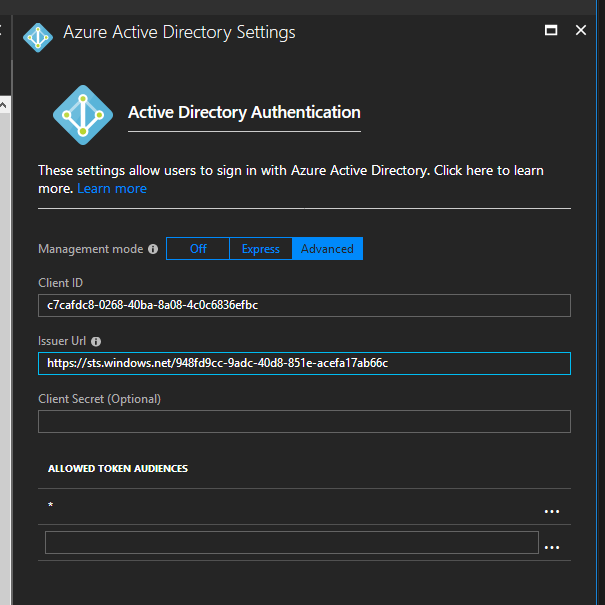 Call Azure AD secured API from your SPFx code  Story #1: Azure