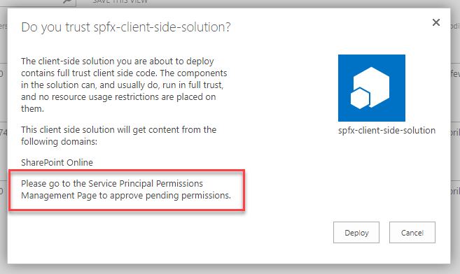 Call Azure AD secured API from your SPFx code  Story #3: Web