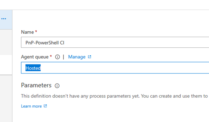 VSTS stories  Running PnP-PowerShell scripts as part of your