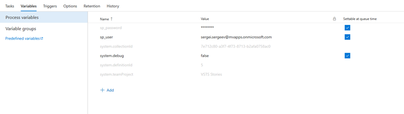 VSTS stories  Upload file to SharePoint from Gulp as part of