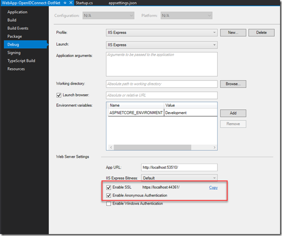 Call Azure AD secured API from your SPFx code  Story #2: Web