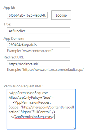 Using SharePoint Remote Event Receivers with Azure Functions